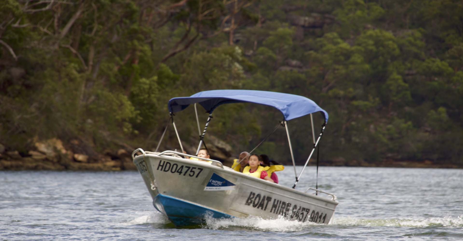 Boat Hire at Empire Marinas Bobbin Head