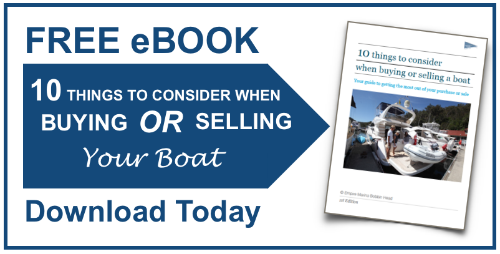 Empire Marinas free eBook on Buying and Selling a boat